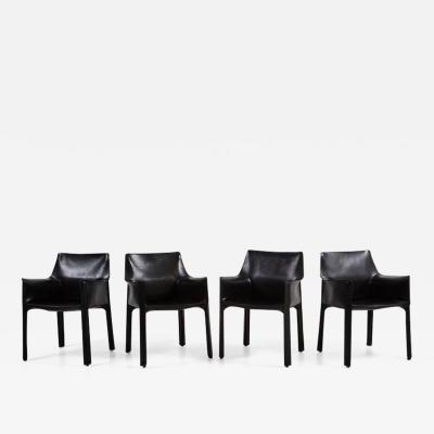 Mario Bellini CASSINA CAB ARM CHAIRS BY MARIO BELLINI