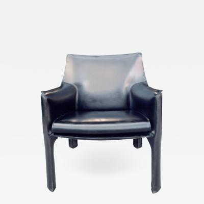 Mario Bellini Cassina Cab Lounge Chair by Mario Bellini