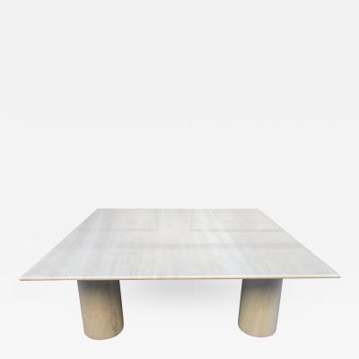 Mario Bellini Large Mario Bellini Italian Marble Coffee Table