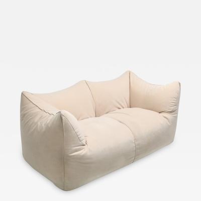 Mario Bellini Mario Bellini Le Bambole Two Seat Couch in Alcantara 1970s