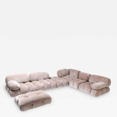 Mario Bellini Nude Colored Modular Sofa by Mario Bellini Camaleonda 1970s
