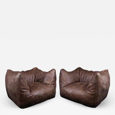 Mario Bellini Pair of Le Bambole easy chairs