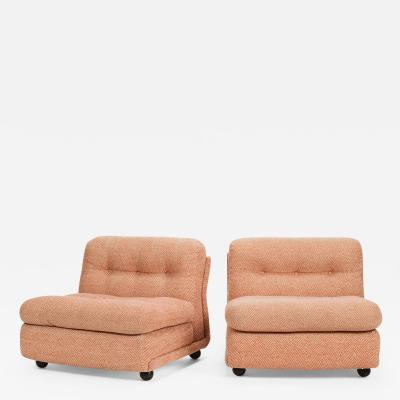 Mario Bellini Pair of Mario Bellini Amanta armchair 70s