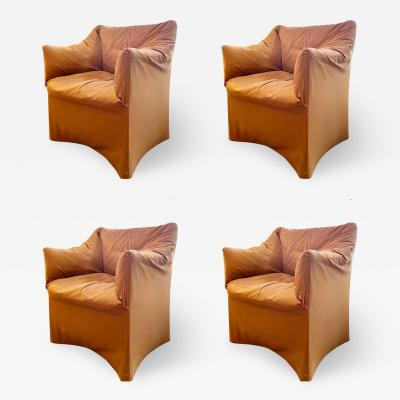 Mario Bellini Pair of Tentazione Lounge Chairs for Cassina by Mario Bellini