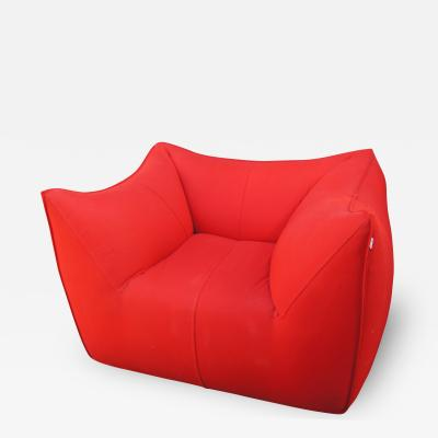 Mario Bellini Red Bambola Lounge Chair by Mario Bellini