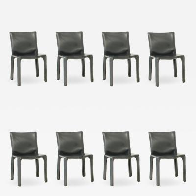 Mario Bellini Set of Eight Cab Chairs by Mario Bellini for Cassina Italy