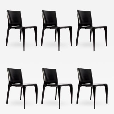 Mario Bellini Set of Six Mario Bellini 422 Bull chairs for Cassina