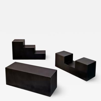 Mario Bellini Set of modular Scacchi by Mario Bellini for C B Italia 1970s