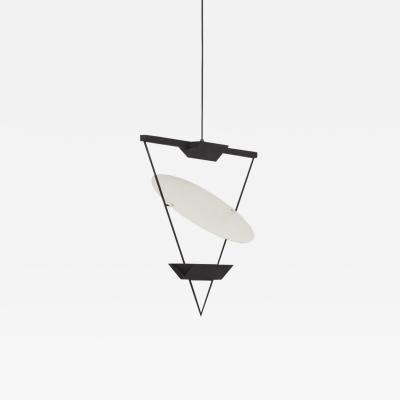 Mario Botta Mario Botta inverted triangle lamp Artemide 1985