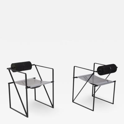 Mario Botta Pair Of Chairs Seconda 602 by Mario Botta for Alias 1982s
