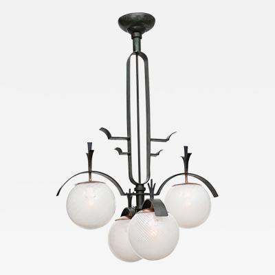 Mario Lab Large Scale Modernist Chandelier By Mario Lab