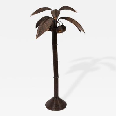 Mario Lopez Mario Lopez Palm Tree Floor Lamp