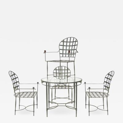 Mario Papperzini Mario Papperzini Breakfast or Patio Table Set for John Salterini