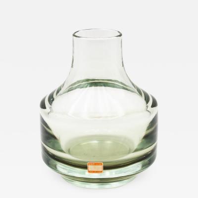 Mario Pinzoni A Vintage Mario Pinzoni for Seguso Vetri dArte Murano Blown glass vase