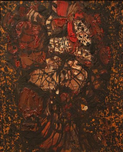 Mario Prassinos Mario Prassinos Oil on Canvas 1963