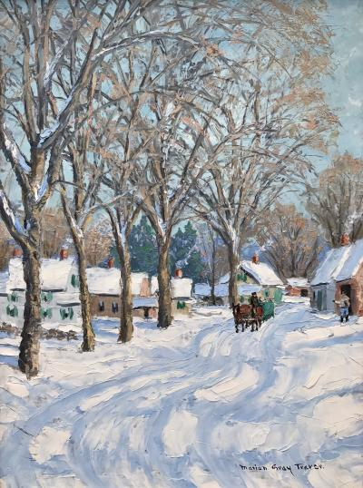 Marion Gray Traver Sleigh Ride