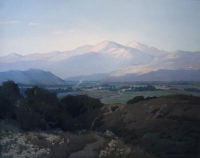 Marion Kavanagh Wachtel Evening Landscape