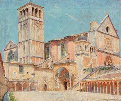 Marius Michel Church of Assisi