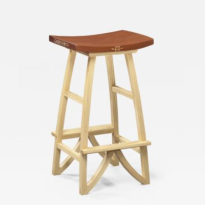 Mark Del Guidice Ash Stool