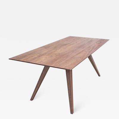 Mark Jupiter Carved Walnut Table by Mark Jupiter