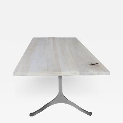 Mark Jupiter Washed Maple Wishbone Table by Mark Jupiter