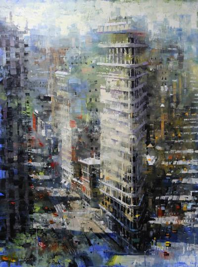 Mark Lague Flatiron Shadows