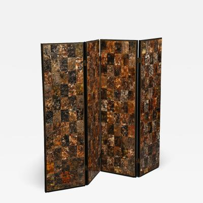 Mark Schirrillo 4 panel folding screen in