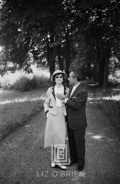 Mark Shaw Coco Chanel Strolls