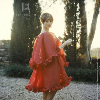 Mark Shaw Elsa Martinelli in Red Chiffon