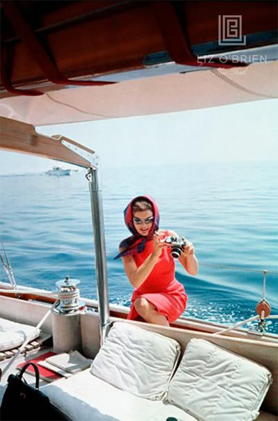 Mark Shaw Jacqueline Kennedy Taking a Picture Using Mark Shaws Camera