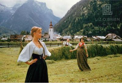 Mark Shaw Three Models in McCardell Austria 1956