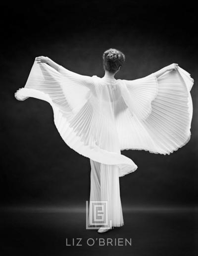 Mark Shaw Vanity Fair Butterfly Robe Back