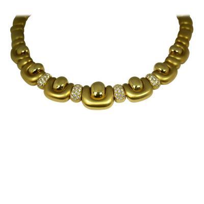 Marlene Stowe Marlene Stowe Gold Necklace with Diamonds