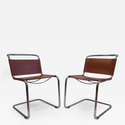 Mart Stam Pair of Mart Stam Chairs
