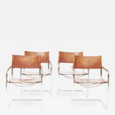 Mart Stam SET OF FOUR MG5 DINING CHAIRS DESIGNED BY MART STAM