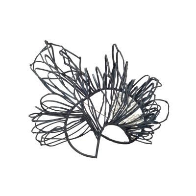 Martacarmela Sotelo MIRRORGEMS M 4 silver brooch