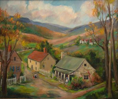 Martha Moffett Mrs Bache ROAD TO THE MOUNTAINS SPERRYVILLE VIRGINIA