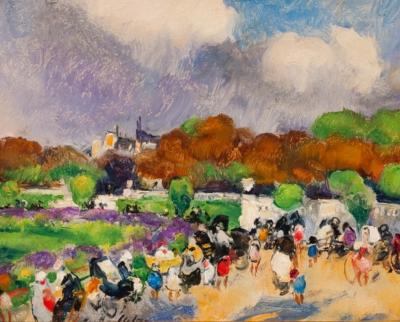 Martha Walter Autumn Afternoon in Luxembourg Garden