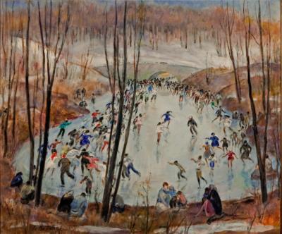 Martha Walter Sunday Skaters Central Park