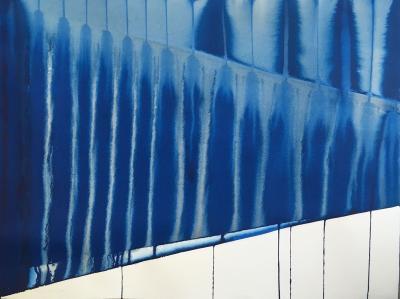 Martin Reyna Perspective en bleu