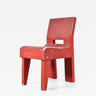 Martin Visser 1988s Martin Visser Prototype SE20 Chair T Spectrum