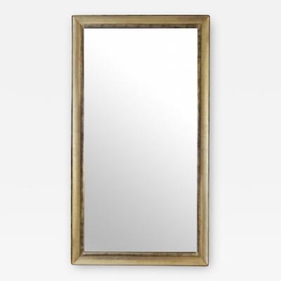 Marvelous Vintage Silver Leaf Mirror