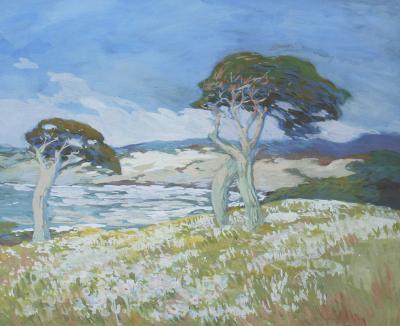 Mary DeNeale Morgan Pebble Beach Near Cypress Point