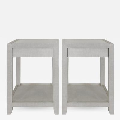 Mary Forssberg Mary Forssberg Pair of Telephone Style Night Stands Custom Made to Order