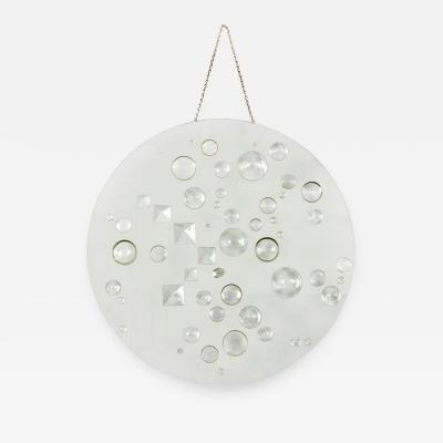 Mary Hilde Ruth Bauermeister Mary Bauermeister Optical Glass Disc Sculpture USA 1970s