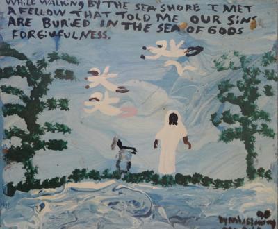 Mary L Proctor folk artist