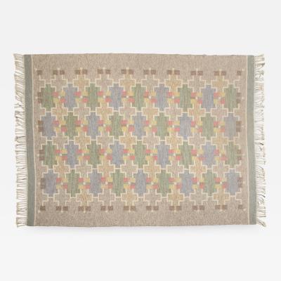 Mary Sandberg Swedish Flat weave Ro lakan Designed by Mary Sandberg