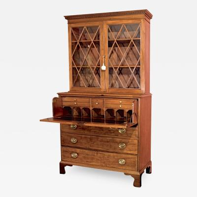Maryland Federal Period Secretary Bookcase