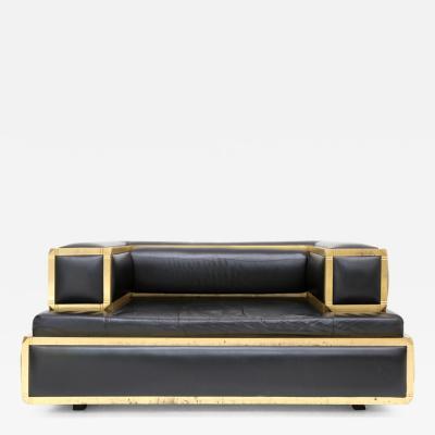 Marzio Cecchi Marzio Cecchi Leather Lounge Chair