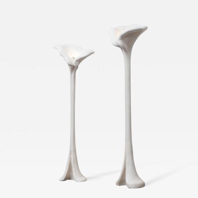 Marzio Cecchi Marzio Cecchi Sculptural Ceramic Floor Lamps